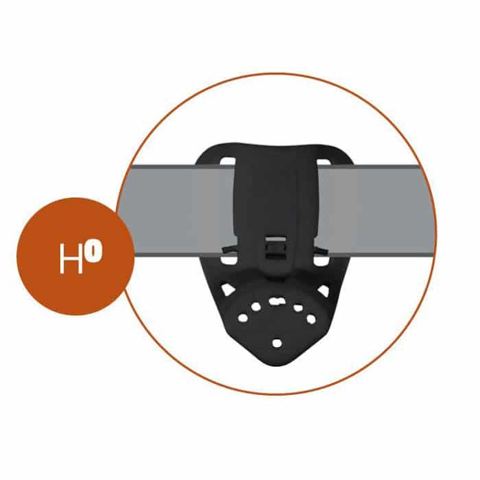 8K41 - Passante professionale in Polimero stampato ad iniezione  